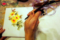 Chinese Brush Painting Workshop for Two
